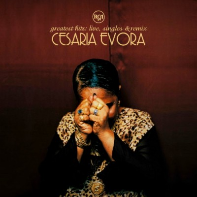 Cesaria Evora - Greatest Hits live, singles & remix front