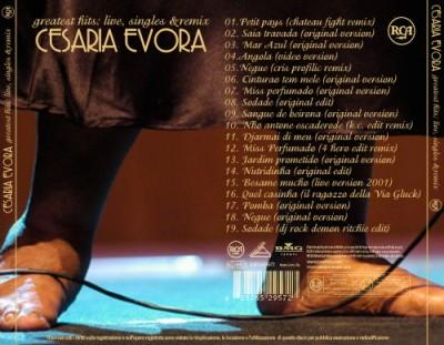 Cesaria Evora - Greatest Hits live, singles & remix retro
