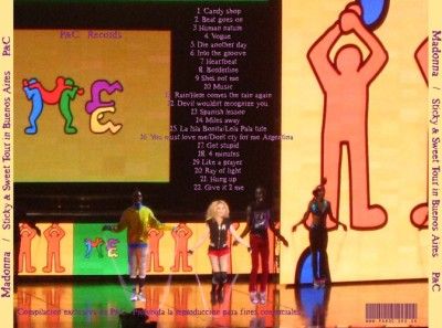 Madonna - Sticky & Sweet Tour in Buenos Aires retro1